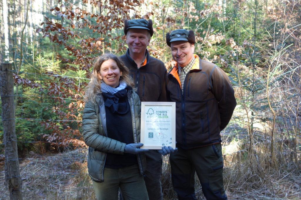 Musíme začít pěstovat bohaté a rozrůzněné lesy, říká majitelka Lesů Nový Berštejn Marie-Eve Jirat-Wasiutynsky