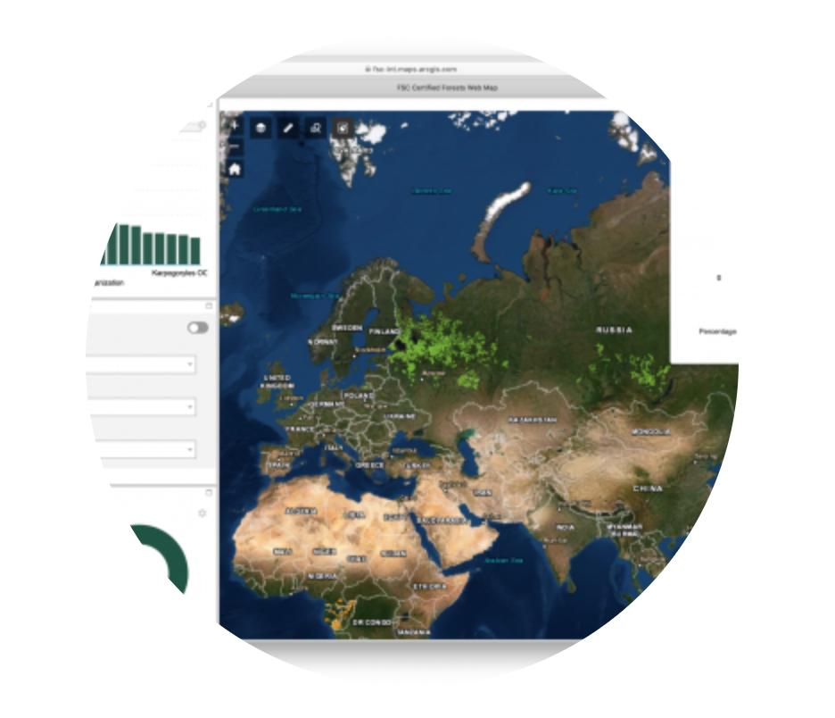 Kde všude ve světě se nacházejí FSC lesy? Vyzkoušejte naše nové interaktivní mapy